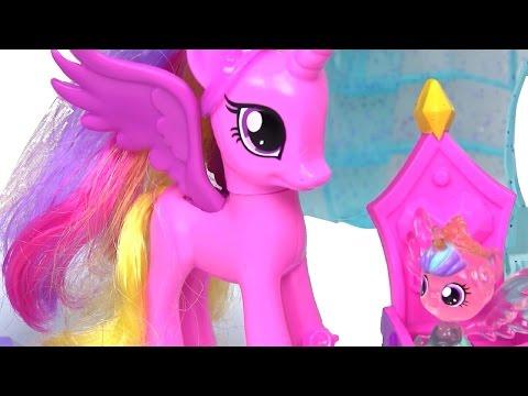 Мультфильм принцесса и пони