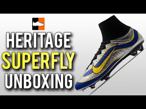 cf14c8a0d5b8 1998 Vapor Superfly iD Heritage Mercurial Unboxing   Original Ronaldo Nike  Football Boots - YouTube