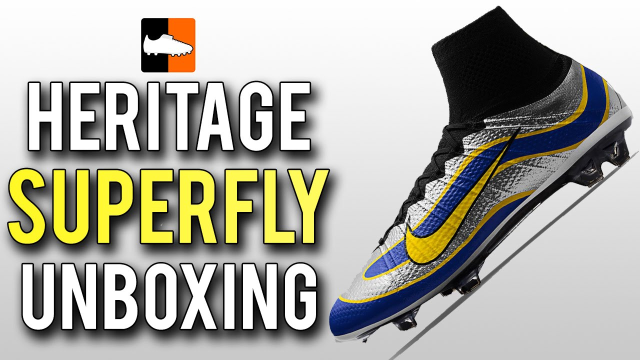 b99a458297d9 1998 Vapor Superfly iD Heritage Mercurial Unboxing | Original Ronaldo Nike  Football Boots