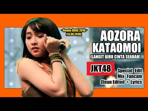 JKT48 Team KIII - Aozora Kataomoi @ Honda GIIAS 2016 [14.08.2016] [Clean Edited + Lirik]