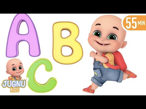 The Phonics Song With Two Letter Words   A For Apple   Learn English With Abc Alphabet By Jugnu Kids