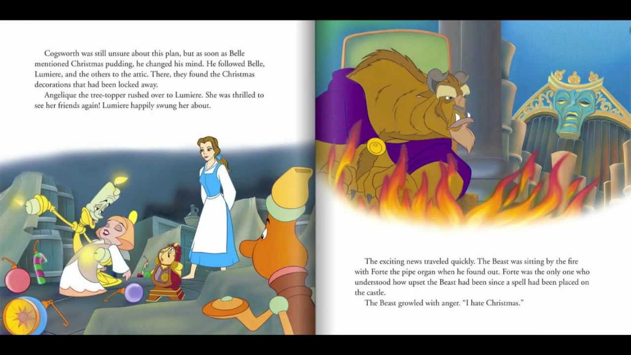 beauty and the beast the enchanted christmas read along