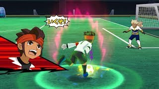 Inazuma Eleven Go Strikers 2013! Inazuma Legend Japan Vs Zanark Domain Wii 1080p (Dolphin/Gameplay)
