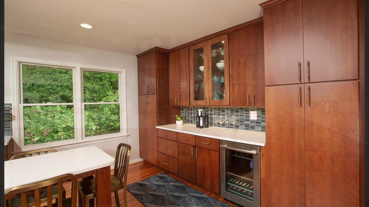 Northern Virginia Before And After Fairfax Va Contemporary Kitchen Remodel Lensis Builders Inc