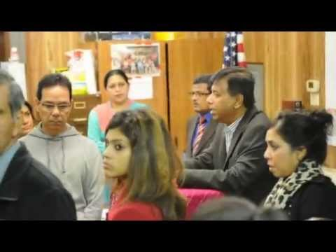Bangladesh Embassy visit to Houston, Nov 16, 2014
