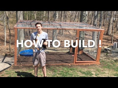 How To Build A Simple Chicken/Duck Coop! Simple! Easy! Cheap!