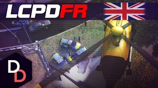 LCPDFR 1.1 The British way! - Day 120 - Met Police India 99/NPAS Helicopter