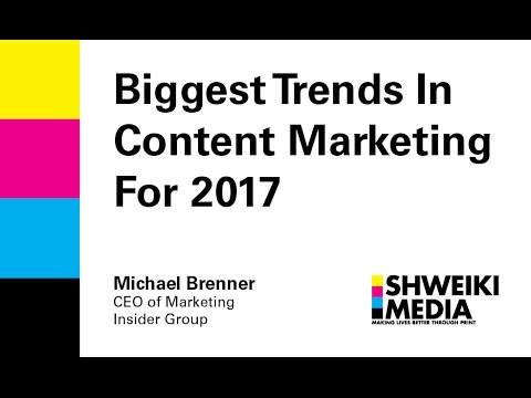 Biggest Trends in Content Marketing in 2017