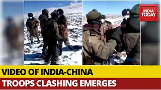 India-China Face Off: Nęw Footage Of Indian, Chinese Troops Clashing At Border Emerges