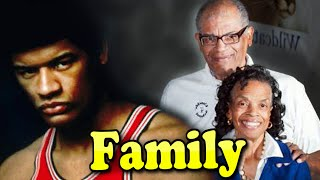 Wes Unseld Family With Son and Wife Connie Unseld 2020