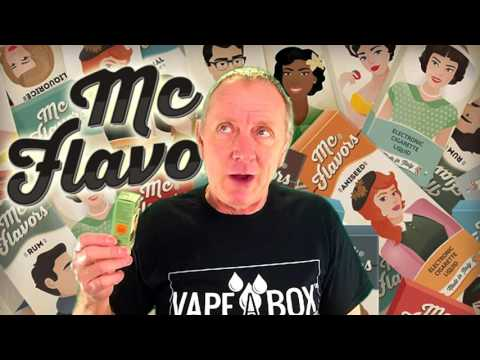 Virginia tobacco from mcvapor vape juice without PG