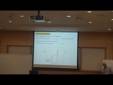 Ady Stern - Topological State of matter and Majorana fermions [Day 1]