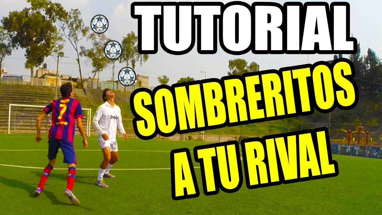 Como Hacer Un Sombrero En El Futbol Como Neymar Top 5 Futbol Tutoriales Y Jugagas De Futbol Sala Youtube