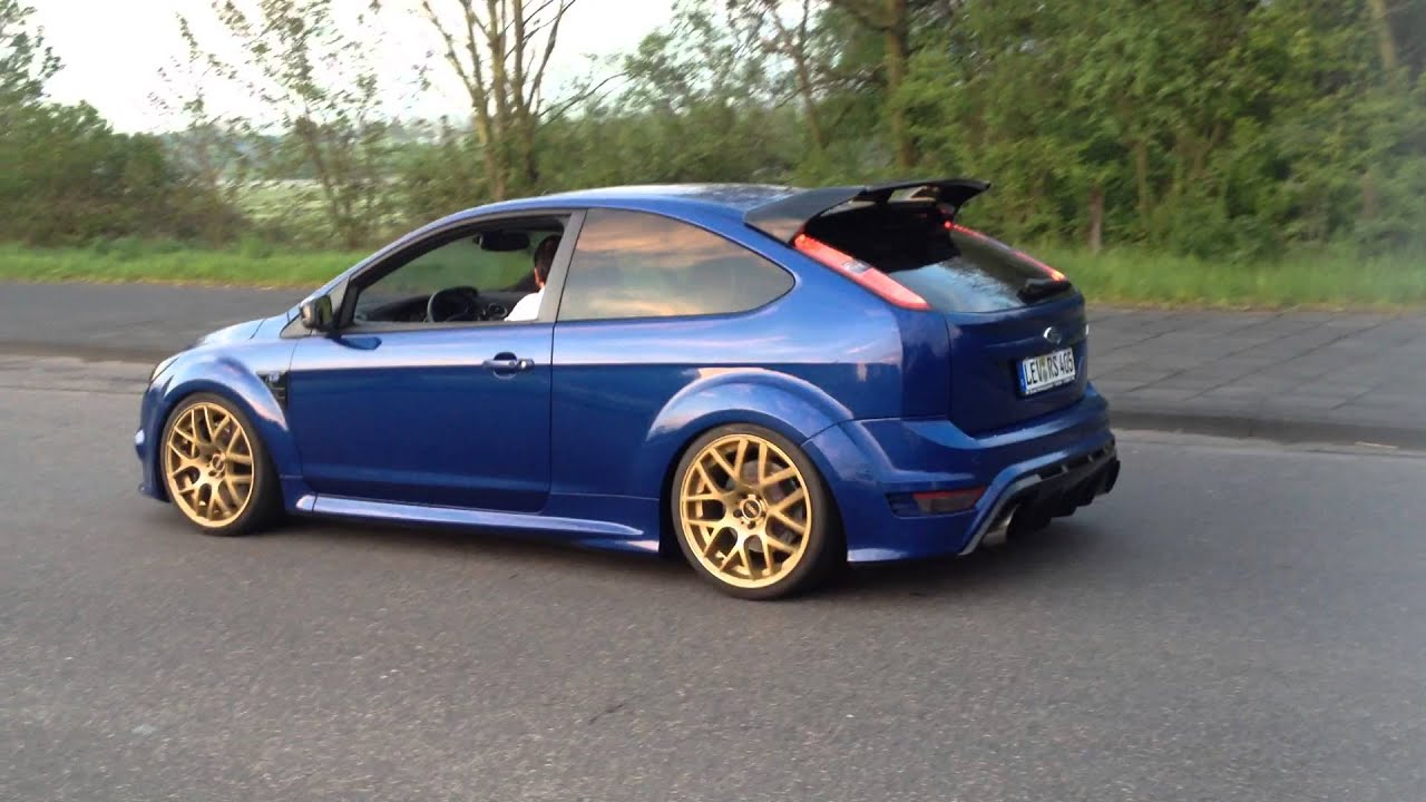 ford focus rs stage 4 milltek sound youtube