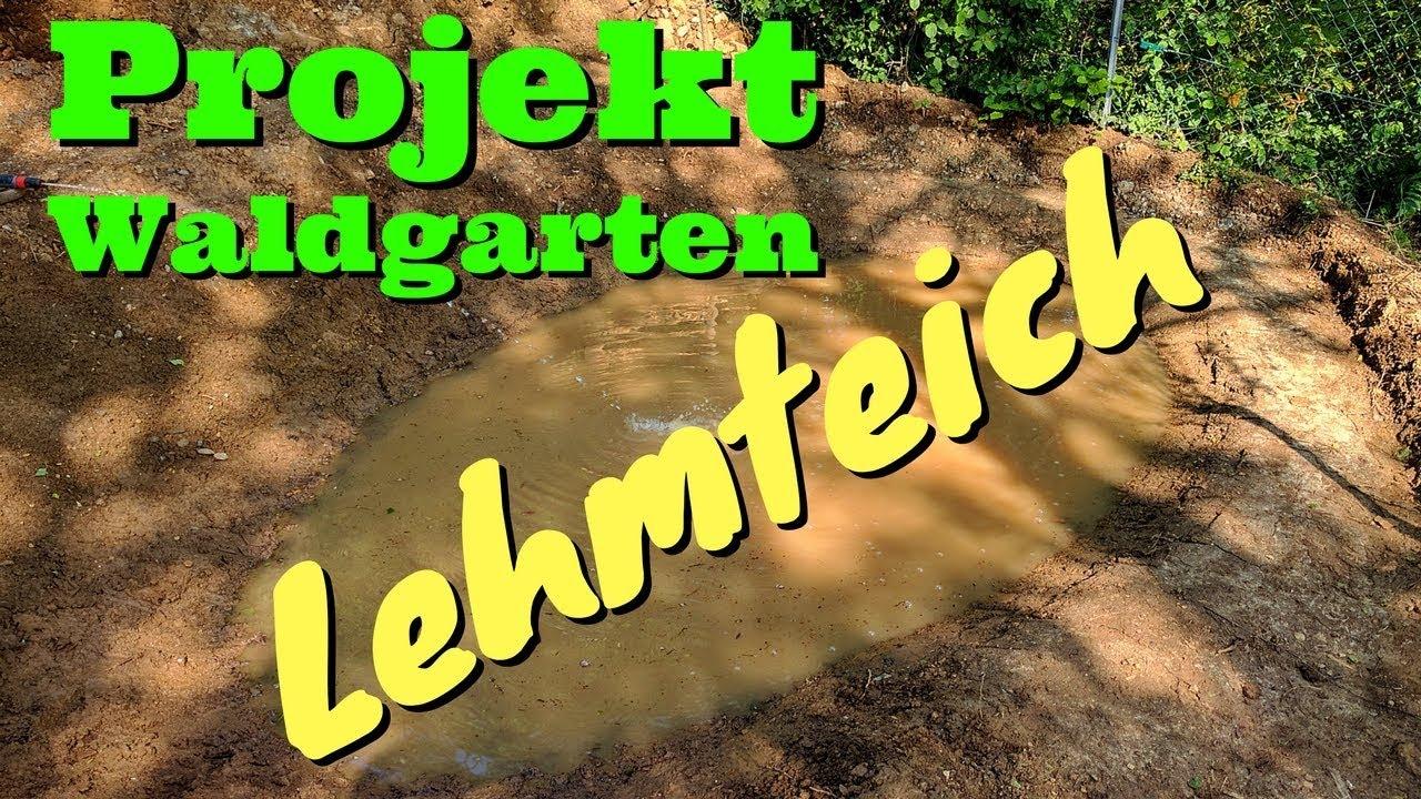 Atemberaubend Gartenteich mit Lehm abgedichtet - YouTube #ZG_64