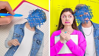 OMG! MAGIC DIARY GRANTS WISHES || Fun School Situations! Rich VS Poor Crazy Pranks By 123 GO! TRENDS