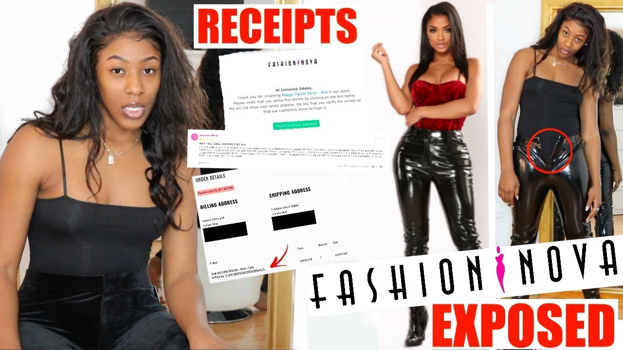 FASHION NOVA EXPOSED                  Size Chart is a Lie   They Deleted My     FASHION NOVA EXPOSED                  Size Chart is a Lie   They Deleted My Reviews    RECEIPTS INCLUDED