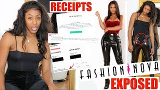 FASHION NOVA EXPOSED🐸☕️ // Size Chart is a Lie + They Deleted My Reviews!! RECEIPTS INCLUDED