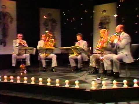 Bach: Toccata & Fugue in D minor - Original Canadian Brass with Peter Schickele - Part 5 of 7