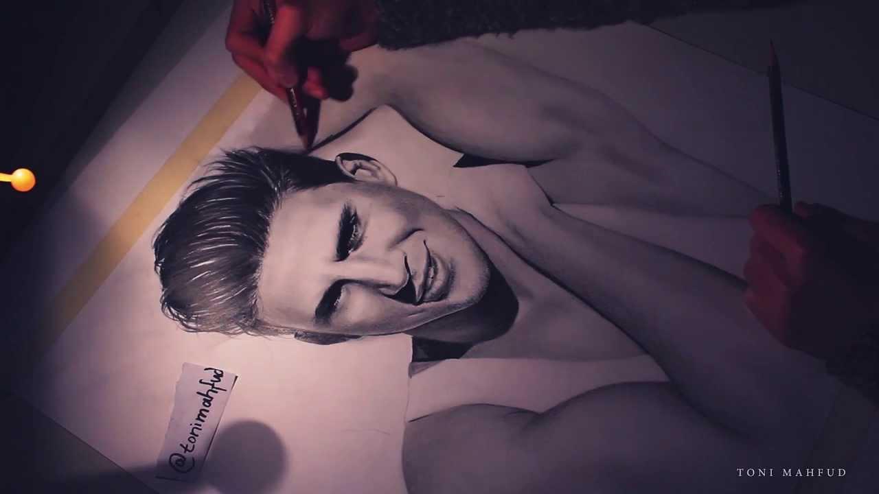 Drawing Channing Tatum