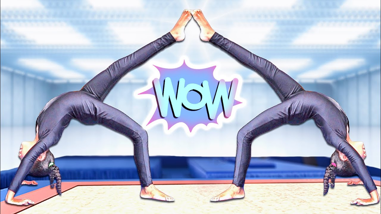 Extreme Gymnastics Challenge Twin Vs Twin!