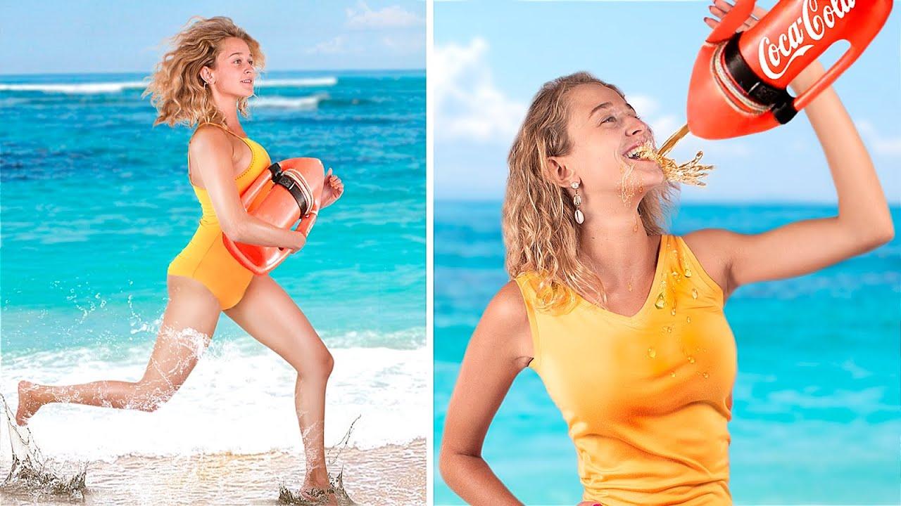 13 วิธีแอบนำอาหารเข้าไปในสระว่ายน้ำ หรือชายหาดส่วนตัว!
