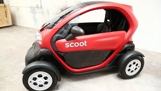 Scoot's First Four-Wheel Vehicle