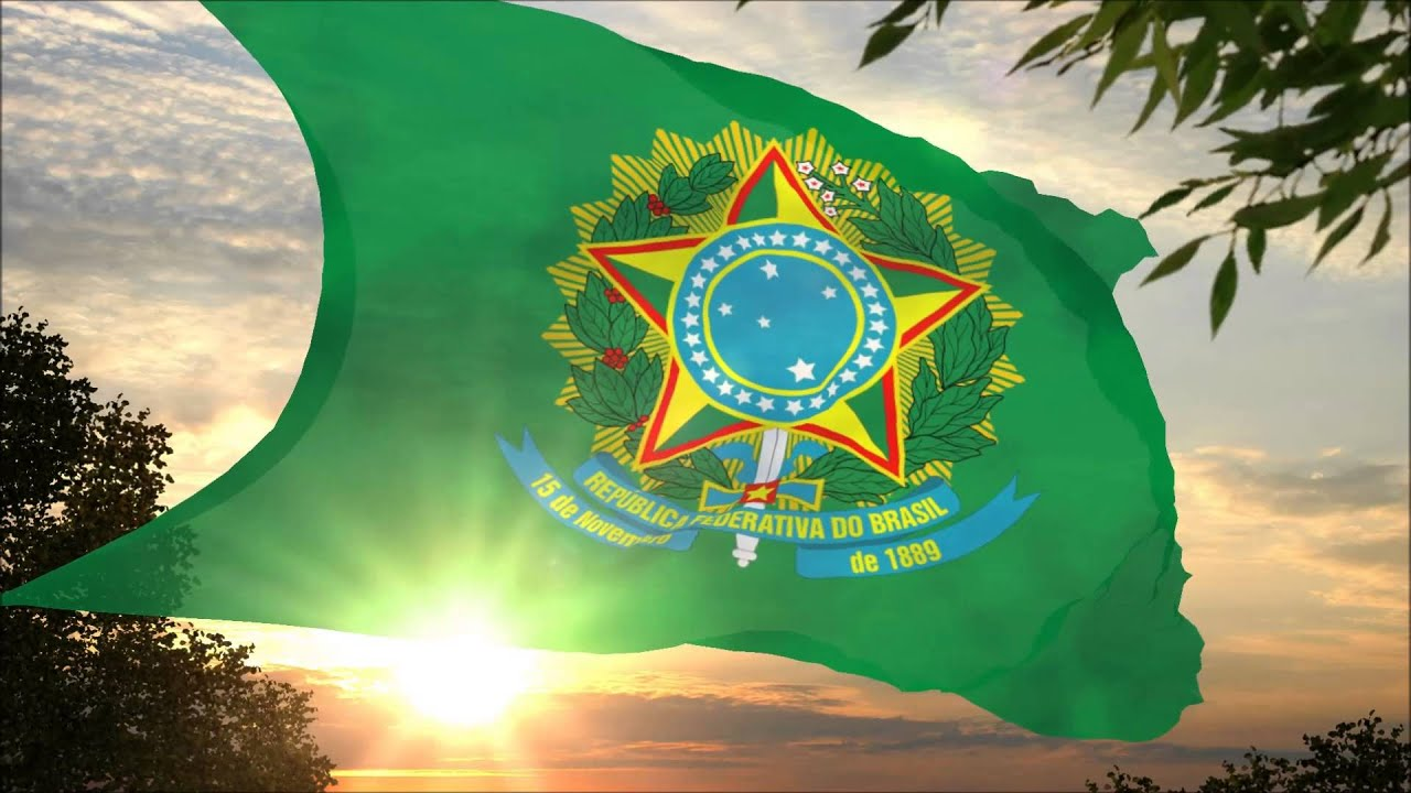 Bandeira Presidencial Do Brasil Presidential Flag Of