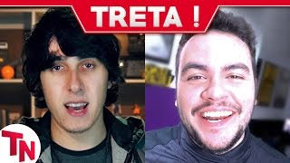 Castanhari se revolta contra Luccas Neto e Felipe Neto, Pirula fala sobre Fatos Desconhecidos
