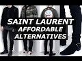 Saint Laurent Affordable Alternatives | Streetwear , Options, Luxury, YSL, Mens Fashion | Gallucks