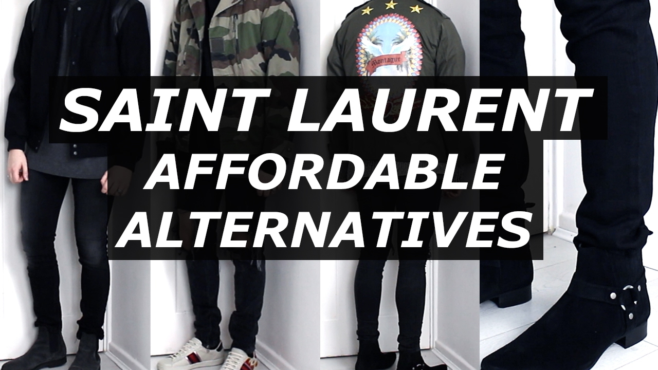 f8bd6102075 Saint Laurent Affordable Alternatives | Streetwear , Options, Luxury, YSL,  Mens Fashion | Gallucks - YouTube