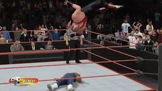PC世界摔角娛樂WWE 2K16 - 維德[ Vader] Vs. 低階夜總會男人[夏日衝擊'98] [無規則賽] [27/11/'16]