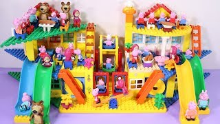 Lego House With Water Slide Building Toys - Lego Creations Toys For Kids #7