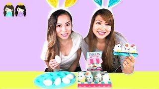 Easter Eggs coloring for kids - DIY with Princess ToysReview