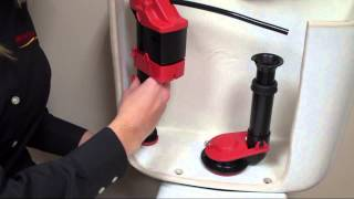 Korky® WaterWISE® Toilet Fill Valve and Premium Flapper Installation