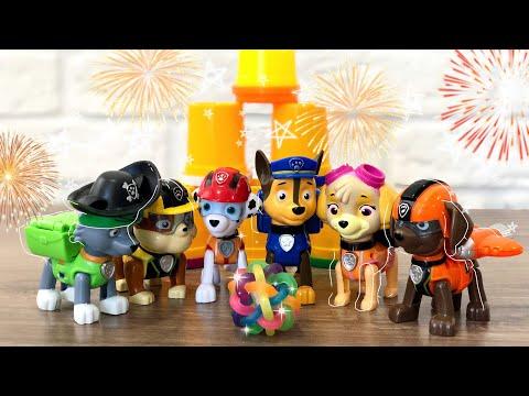 Щенячий патруль (Paw Patrol) - игрушки из мультика Щенячий патруль играют - канал для детей