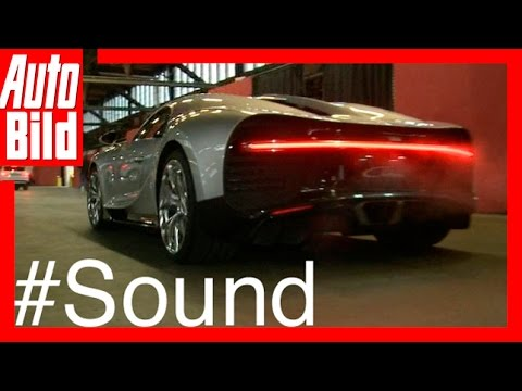 Sound: Bugatti Chiron / 2016 / So klingen 1500 PS! / Review