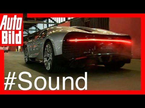 Sound: Bugatti Chiron / 2016 / So klingen 1500 PS! / Review