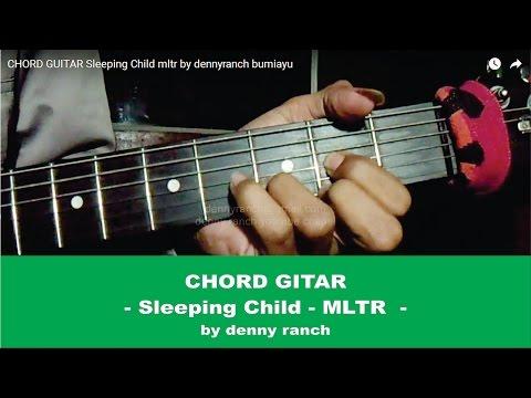 CHORD GUITAR   Sleeping Child   mltr   by dennyranch bumiayu