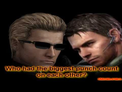 RE Fun Facts: Wesker and Chris hit Count