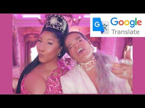 TUSA pero cantada por el traductor Google