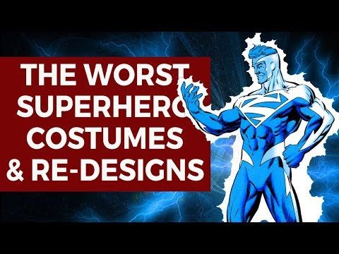 The Worst Superhero Costumes & Re-Designs | The Elseworlds Exchange Podcast