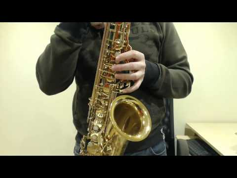 How to play the lowest note on a Saxophone Low Bb Saxophone Lesson BC401