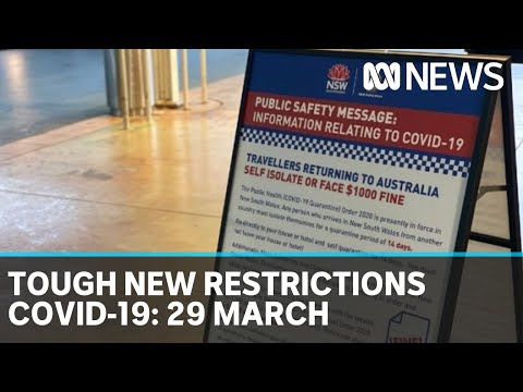Coronavirus Update: The Latest COVID-19 News For Sunday 29 March | ABC News