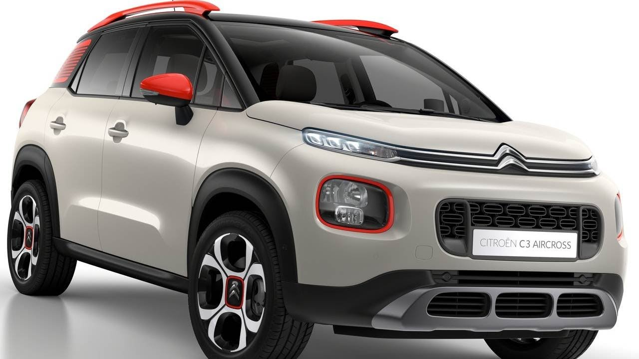 2018 citroen c3 aircross new c3 picasso successor revealed autobizz youtube. Black Bedroom Furniture Sets. Home Design Ideas
