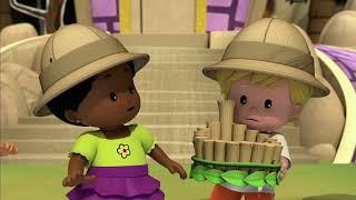Little People: Mali Odkrywcy ⭐️ Król dżungli? ⭐️ Zabawne klipy   Kreskówki dla dzieci