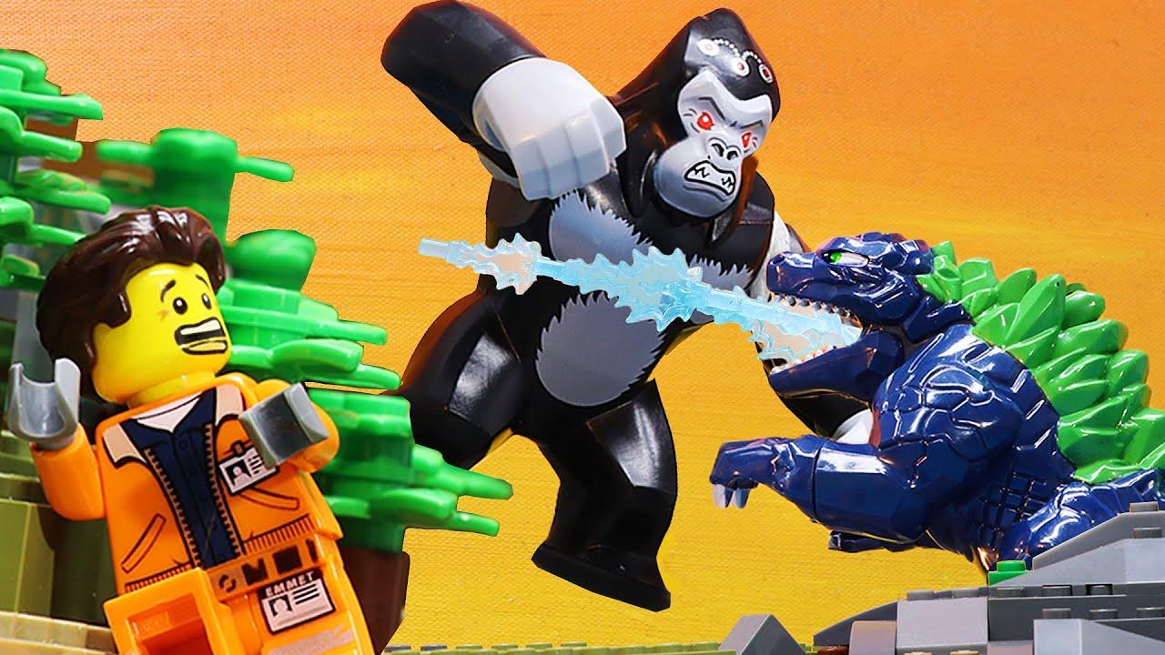 Lego Godzilla VS Kong: Battle Of The Monsters (Lego Stop Motion)