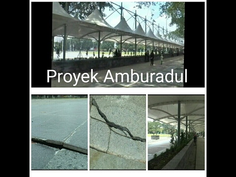 Proyek Renovasi Alun-Alun Purwodadi Amburadul??