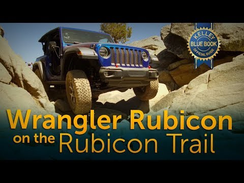 Driving the Rubicon Trail in a Jeep Wrangler Rubicon
