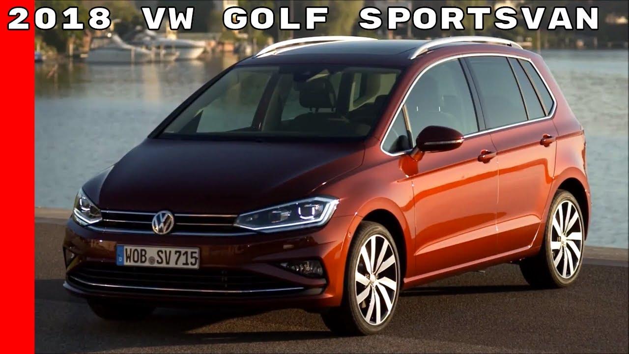 2018 vw golf sportsvan youtube. Black Bedroom Furniture Sets. Home Design Ideas